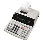 Calcolatrice scrivente Sharp EL 2607PGYSE 12 cifre grigio
