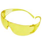 Occhiali monoblocco di protezione 3M SecureFit SF203AF plastica, policarbonato Giallo