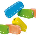 Astuccio rettangolare Pigna Soft Touch 80x200x60mm colori assortiti fluo Monocromo