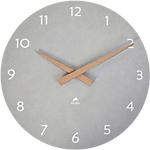 Orologio da parete Alba HorMilena 30 cm grigio chiaro, legno