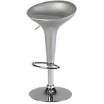 Sgabello bar Serena ABS, acciaio grigio