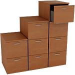 Classificatore 3 cassetti Artexport Filing noce 490 x 550 x 1.072 mm