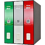 Raccoglitori a leva Esselte TriDox Italy dorso 8 cm cartone assortiti 3 unità