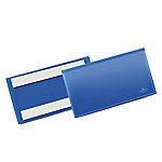 Buste identificative con bande adesive Durable 150x67 mm