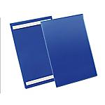 Buste identificative con bande adesive Durable formato A4 verticale (210x297 mm) confezione da 50 pezzi
