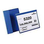 Buste identificative con aletta pieghevole Durable formato A5 orizzontale (210x148 mm) confezione da 50 pezzi