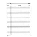 Registro contabilità dei lavori Edipro 31 x 21cm 47pg numerate