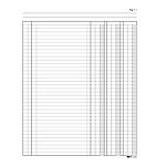 Registro libro inventari Edipro 31 x 24,5cm 92pg numerate