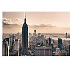 Quadro Paperflow in plexiglass stampa New York 60x80 cm