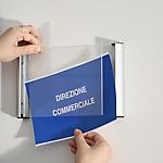 Porta targa appendibile Tecnostyl A6 11x15 cm