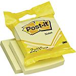 Foglietti riciclati Post it Giallo Canary 76 x 76 mm 2 unità da 100 fogli
