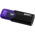 Chiavetta USB 3.2 GEN 1 EMTEC Click Easy 128 GB nero, viola