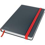 Taccuino a righe Leitz A5 grigio Cartone laminato 80 pagine