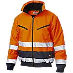 Bomber SiGGi WORKWEAR Alta visibilità 100% poliestere taglia xxxl Blu, arancione