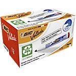 Marcatore per lavagne bianche BIC Velleda 1701 punta rotonda 1.5 mm rosso 12 unità