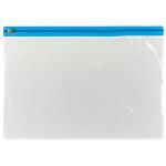 Buste con zip Office Depot A4 trasparente pvc 29,7 (l) x 24 (h) cm 5 unità