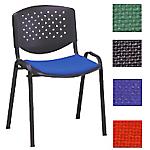 Sedia per sala riunioni D400 blu