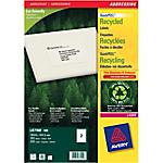 Etichette per indirizzi AVERY Zweckform LR7168 bianco 199,6 x 143,5 mm 100 fogli da 2 etichette