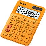 Calcolatrice di base Casio MS 20UC RG 12 cifre arancione