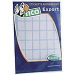 Etichette autoadesive Tico Bianco 100 etichette 10 Fogli