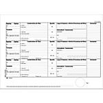 Registro carico scarico rifiuti per detentori Mod. A Semper Bianco rigato perforato 29,7 x 21,5 cm carta 100 fogli