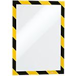 Cornice adesiva DURABLE Duraframe Security Giallo, nero 32,5 (l) x 0,2 (h) cm 2 unità
