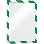 Cornice adesiva DURABLE Duraframe Security Verde, bianco 32,5 (l) x 0,2 (h) cm 2 unità