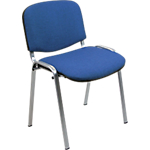 Sedia per sala d'attesa Classic blu