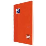 Quaderno OXFORD Neon A4+ a quadretti arancio 80 fogli