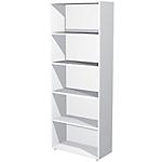 Libreria Avila 4 bianco 760 x 320 x 1.960 mm