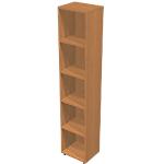 Libreria Avila 4 marrone 400 x 320 x 1.960 mm