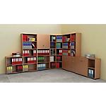 Libreria Avila 1 bianco 400 x 320 x 815 mm