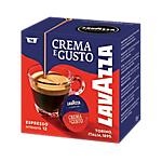 Caffè in capsule Crema e Gusto Lavazza 16 unità
