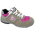 Scarpe Dunlop pelle scamosciata taglia 40 s3 grigio