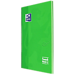 Quaderno OXFORD Neon A4+ 5 mm Verde 80 strappi