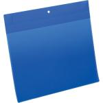 Buste con magneti al neodimio DURABLE A4 orizzontale blu polipropilene 10 unità