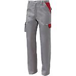 Pantaloni SiGGi WORKWEAR Danubio Poliestere 65% Cotone 35% taglia xxl Grigio, rosso
