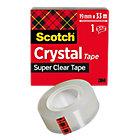 Nastro adesivo Scotch Crystal 19 mm x 33 m trasparente