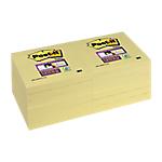 Notes riposizionabili Post it 76 x 76 mm giallo canary 12 unità da 90 fogli