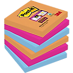 Notes riposizionabili Post it 76 x 76 mm Assortiti 6 unità da 90 fogli