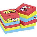 Foglietti adesivi Post it 48 x 48 mm assortiti 12 unità da 90 fogli