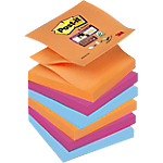 Z Notes Post it 76 x 76 mm Assortiti 6 unità da 90 fogli
