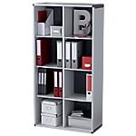 Libreria modulare Paperflow K460811 8 grigio 790 x 330 x 1.418 mm
