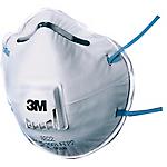 Mascherina antipolvere 3M 8822 Tessuto omologata in classe ffp2 bianco 10 unità