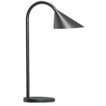 Lampada da tavolo Unilux Sol nero 4 w
