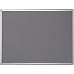 Bacheca in feltro Bi Office grigio 120 x 90 cm
