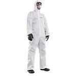Abbigliamento monouso da lavoro Honeywell Mutex light+ Polipropilene laminato con pellicola polietilene taglia xl Bianco 25 unità