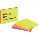 Notes Post it 203 x 152 mm Colori assortiti 4 unità da 45 fogli