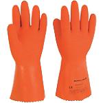 Paio di Guanti Honeywell FineDex Fisherman arancione in Lattice, supporto in poliammide taglia 7 confezionamento 1 paio da 2 guanti