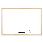 Lavagna bianca Bi Office magnetico 90 x 60 cm